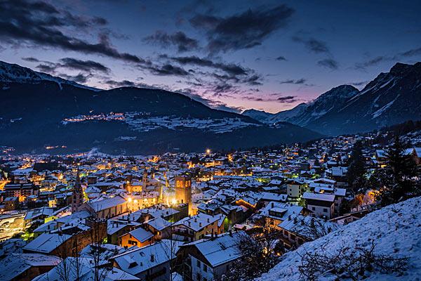 Oga sopra Bormio, Alta Valtellina, Lombardia, Italy ...